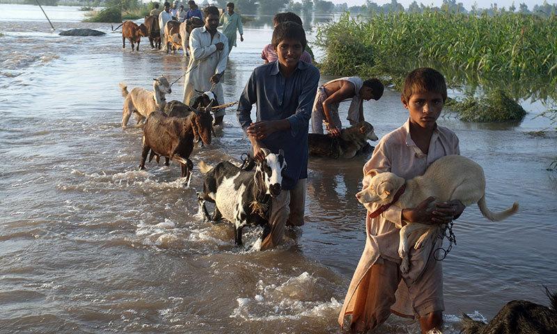 Image d'illustration pour Mousson : inondations dramatiques en Inde et au Pakistan