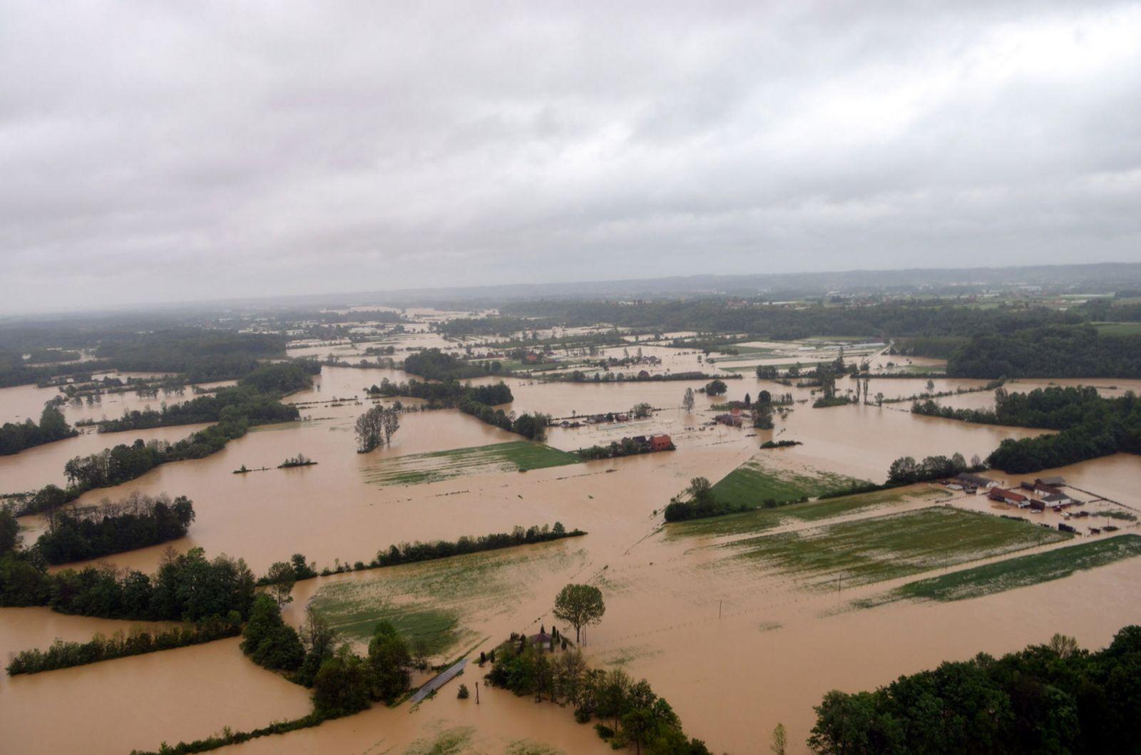 Image d'illustration pour Intempéries et inondations en Europe Centrale (Autriche, Serbie, Bosnie)