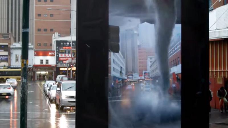Image d'illustration pour Une tornade sur le centre-ville de Sydney en Australie ?