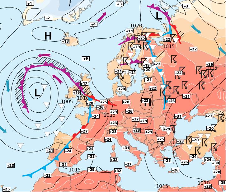 Image d'illustration pour Attention aux orages et aux fortes chaleurs