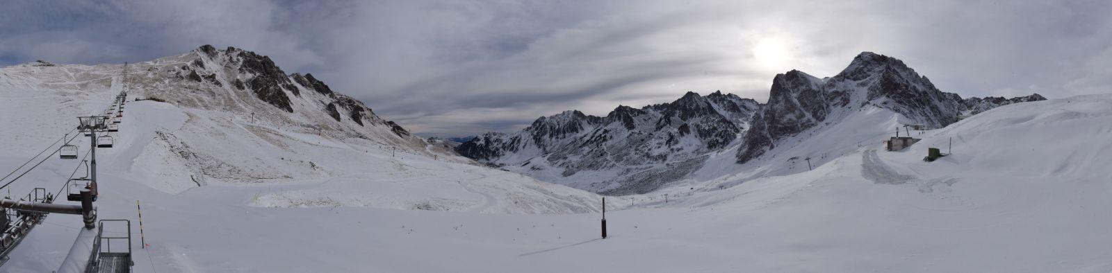Image d'illustration pour Enneigement sur les Alpes et les Pyrénées à la mi-janvier