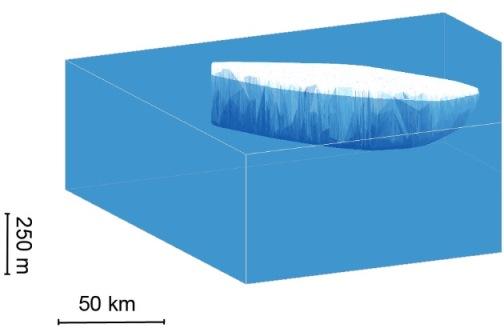 Image d'illustration pour Un immense iceberg se détache de la péninsule Antarctique