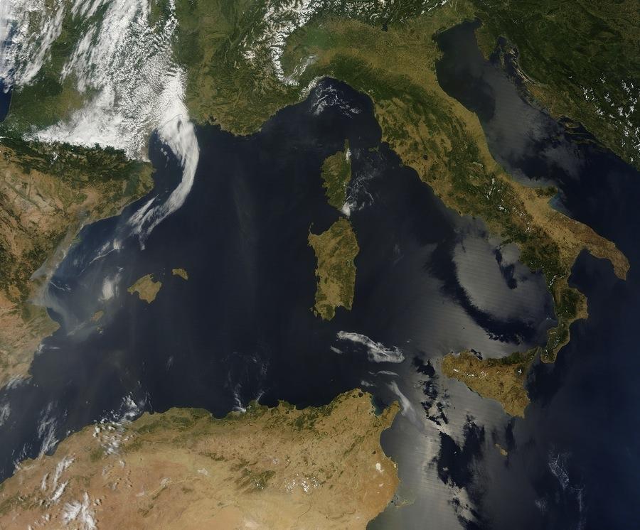 Image d'illustration pour Sable du Sahara dans le ciel du Sud-est de la France