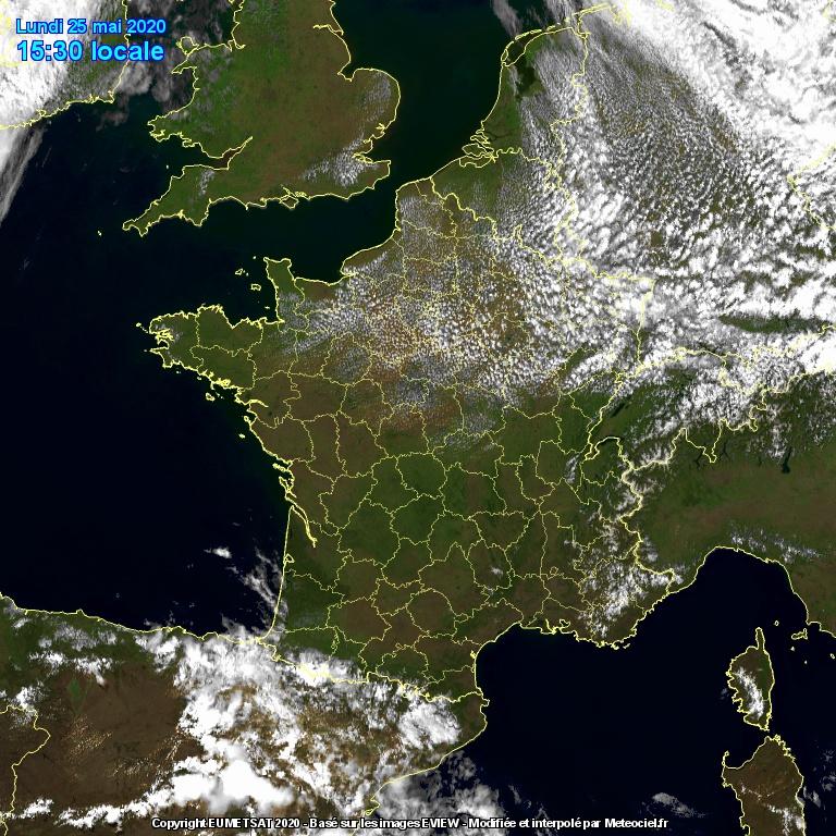 Image d'illustration pour Poursuite d'un temps sec et ensoleillé sur le pays cette semaine