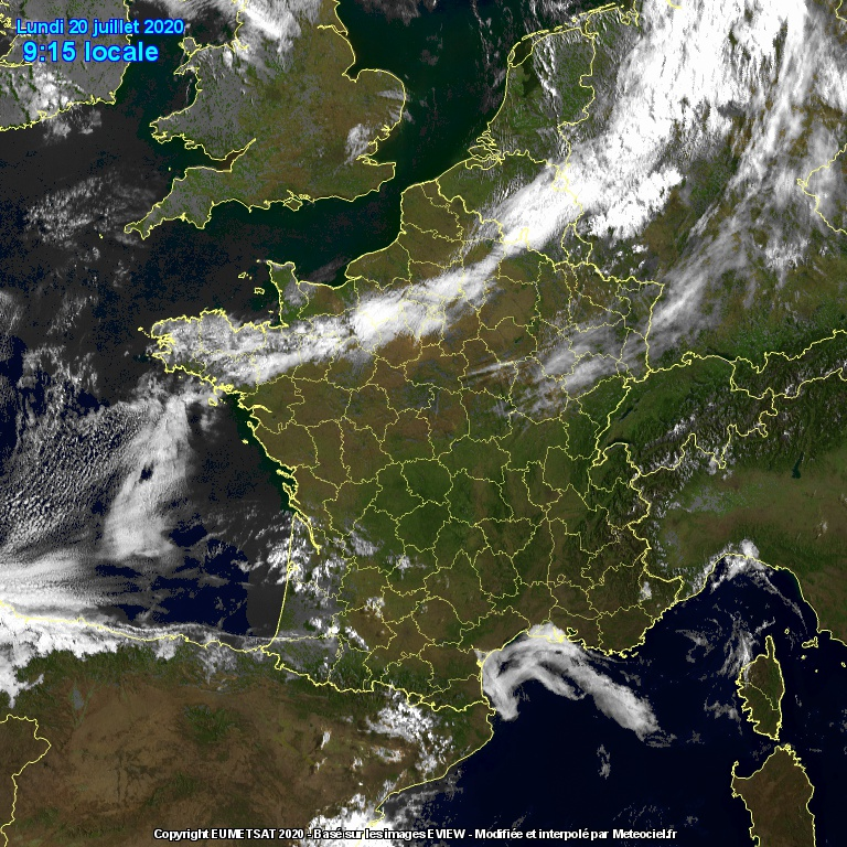 Image d'illustration pour Retour des orages parfois forts cette semaine sur la moitié Sud