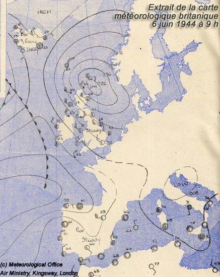 Image d'illustration pour 6 juin 1944 : une météo déterminante pour le débarquement