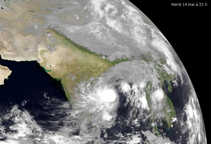 Image d'illustration pour Tempête tropicale Mahasen : Premiers bilans et prévisions
