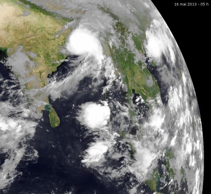 Image d'illustration pour Tempête cyclonique Mahasen - Bangladesh - Birmanie