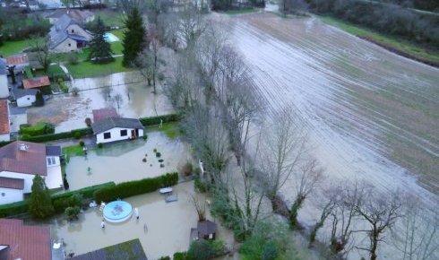 Image d'illustration pour Inondations majeures dans le Sud-Ouest du 24 janvier au 6 février