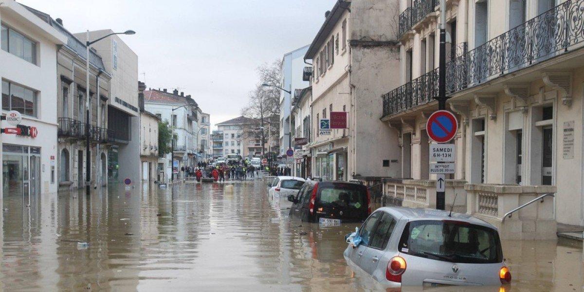 Inondations majeures dans le sud ouest du 24 janvier au 6 for Piscine st paul les dax