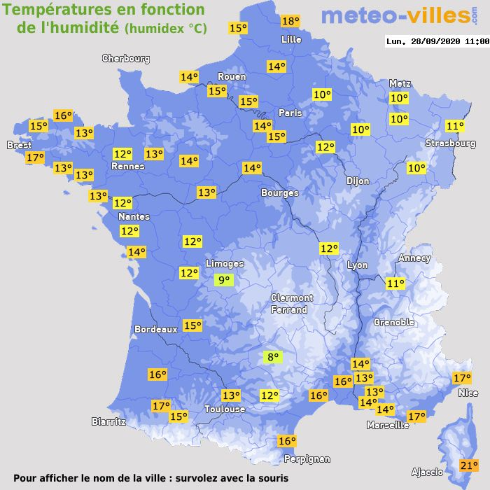 meteo a st maurice aux riches hommes