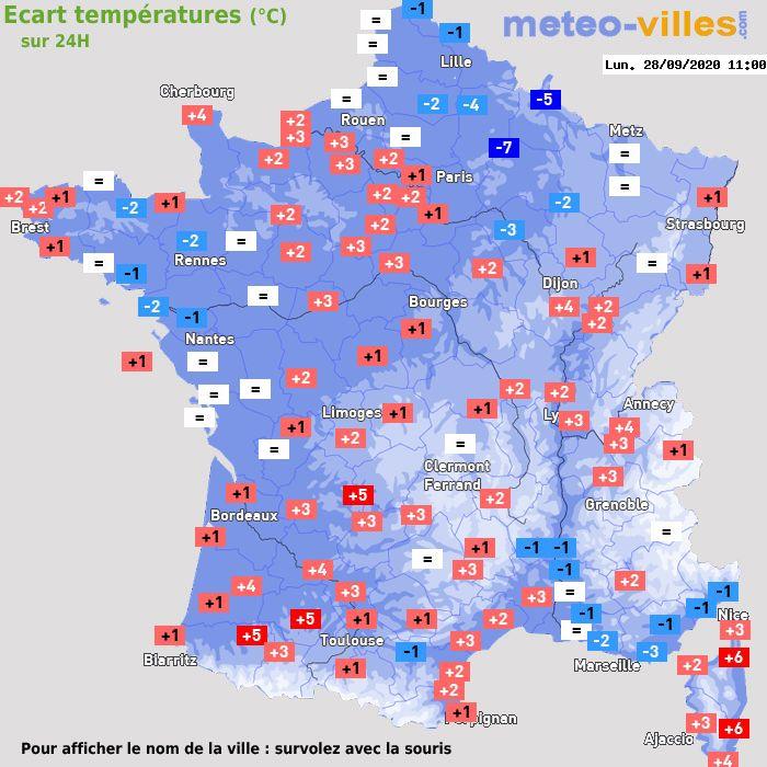 Meteo Dijon Le Premier Site Météo Pour Dijon Et Sa Région
