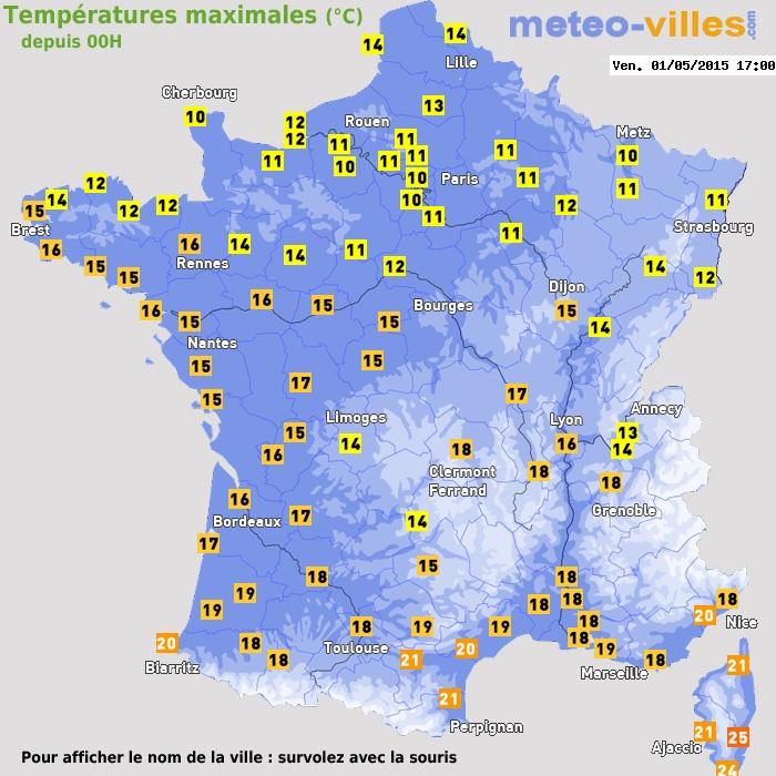 Image d'illustration pour 1er mai le plus frais depuis 1979 à Paris