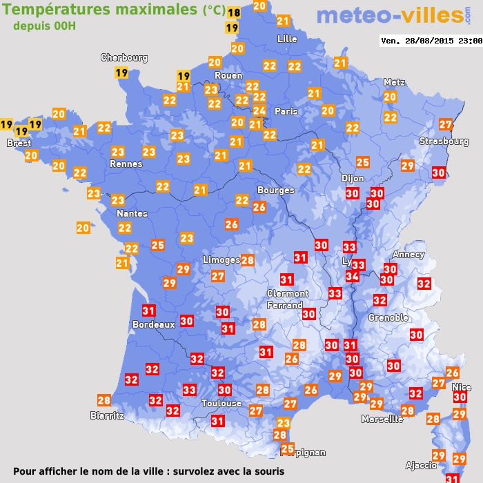 Image d'illustration pour Bilan du pic de chaleur du 29 au 31 août