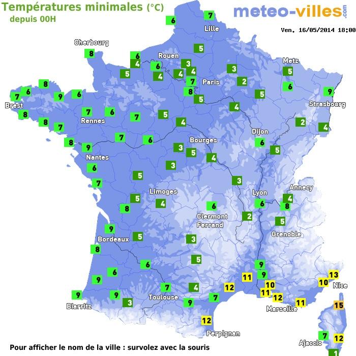 Image d'illustration pour Fraîcheur et gelées matinales - record de froid en Corse