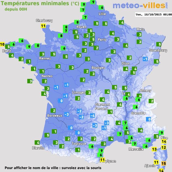 Image d'illustration pour Fréquentes gelées sur la France