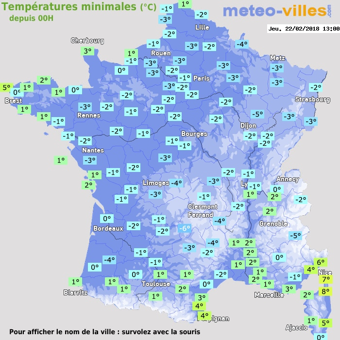 Image d'illustration pour Hiver : retour du froid et gelées généralisées cette semaine