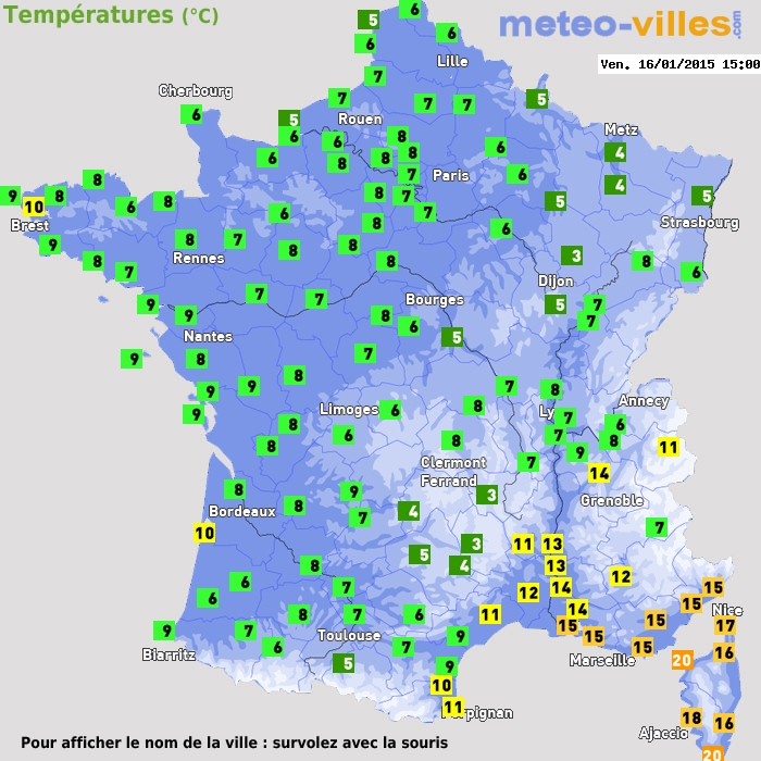 Image d'illustration pour Baisse des températures - retour de la neige en montagne