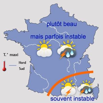 Image d'illustration pour Prévisions saisonnières : printemps-été 2019 plus chauds que la normale ?