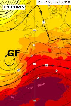 Image d'illustration pour Météo du 14 juillet : chaud et tournant à l'orage