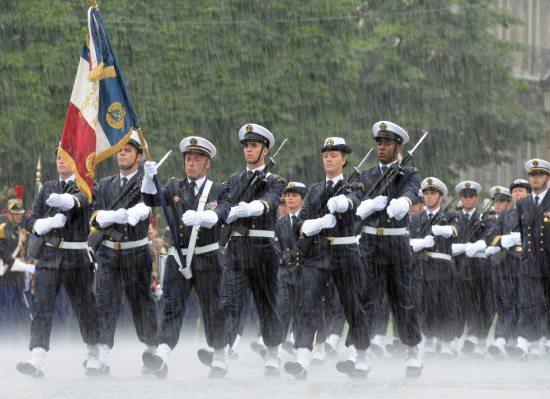 Image d'illustration pour Météo des défilés et feux d'artifice du 14 juillet