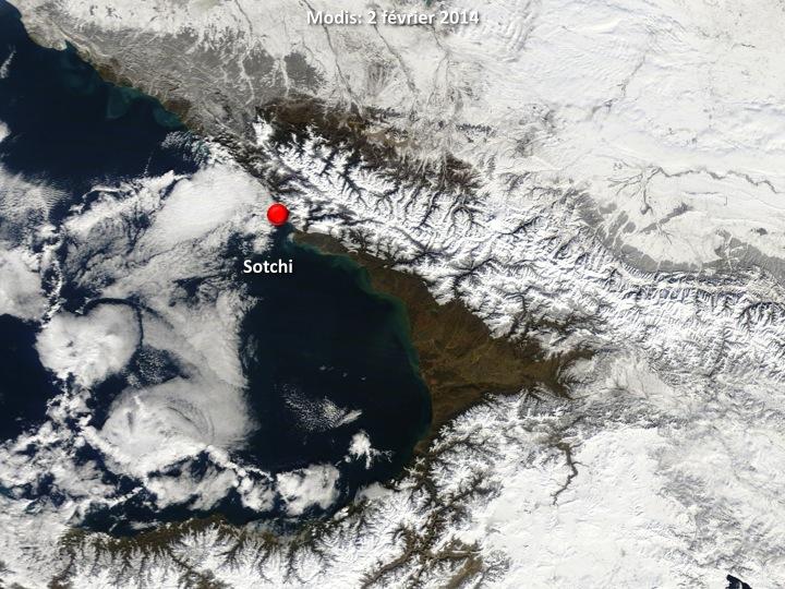Image d'illustration pour Jeux olympiques de Sotchi : climatologie et météo