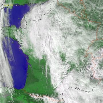 Image d'illustration pour Douceur, instabilité et orage sous un flux de Sud