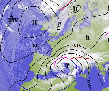 Image d'illustration pour Sud-Est : Tramontane, mistral, bise, burle, neige et congères