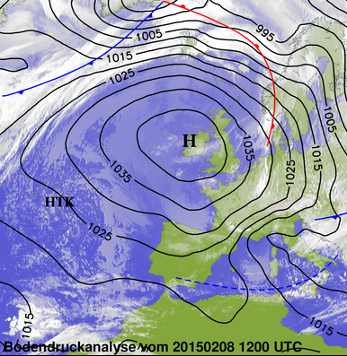 Image d'illustration pour Synthèse : tempête de mistral - tramontane, bise, burle et congère