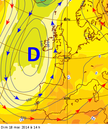 Image d'illustration pour La semaine prochaine : chaleur, orage, autan, foehn, sirocco, pluie de sable