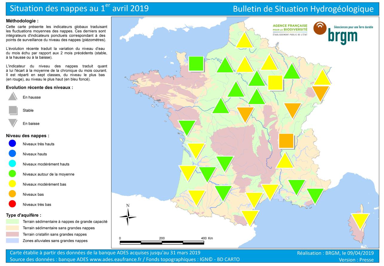 Image d'illustration pour Allons-nous vers une sécheresse marquée dans certaines régions?