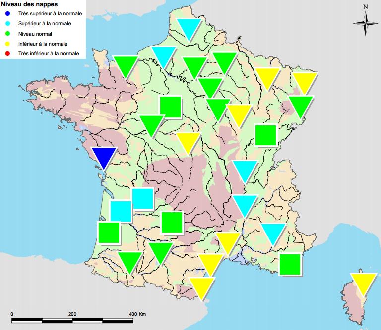 bilan de niveau des nappes phr 233 atiques 28 juillet 2014 html
