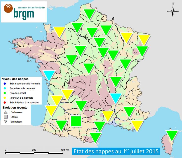 Image d'illustration pour Bulletin de niveaux des nappes phréatiques : pas de sécheresse hydrologique