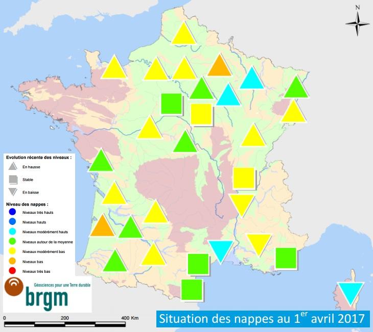 Image d'illustration pour Bulletin de niveaux des nappes phréatiques en avril
