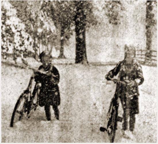 Image d'illustration pour Neige exceptionnelle de cette veille du 1er mai en Normandie !