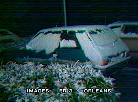 4 cm de neige à Orléans, le 26 octobre 1981