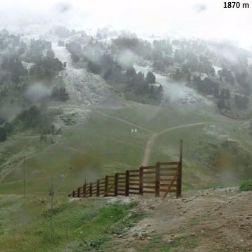 Image d'illustration pour Retour de la neige sur les Alpes et les Pyrénées