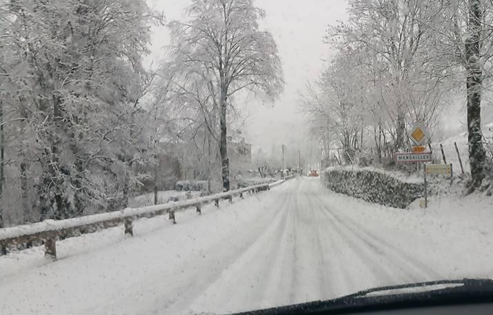 Image d'illustration pour Retour de la neige en plaine en fin de semaine