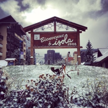 Image d'illustration pour Première neige en moyenne montagne sur les Alpes du Sud