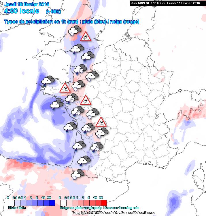 Image d'illustration pour Neige et verglas entre Nord Pas de Calais, Picardie et Normandie
