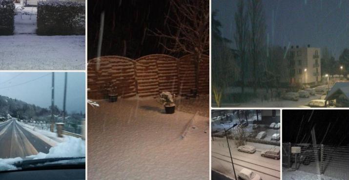 Image d'illustration pour C'est l'hiver : la neige tombe jusqu'en plaine