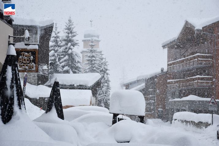 Image d'illustration pour Retour de la neige dans l'Est avant le redoux