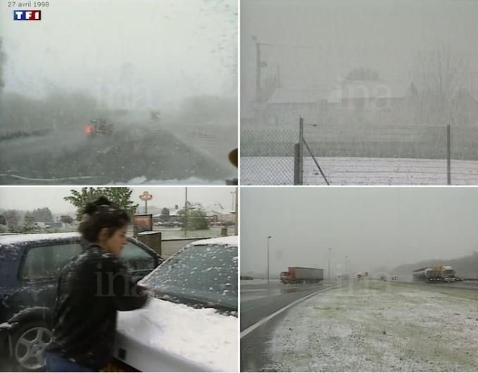 Image d'illustration pour La neige atteint les plaines du Centre Est samedi après-midi