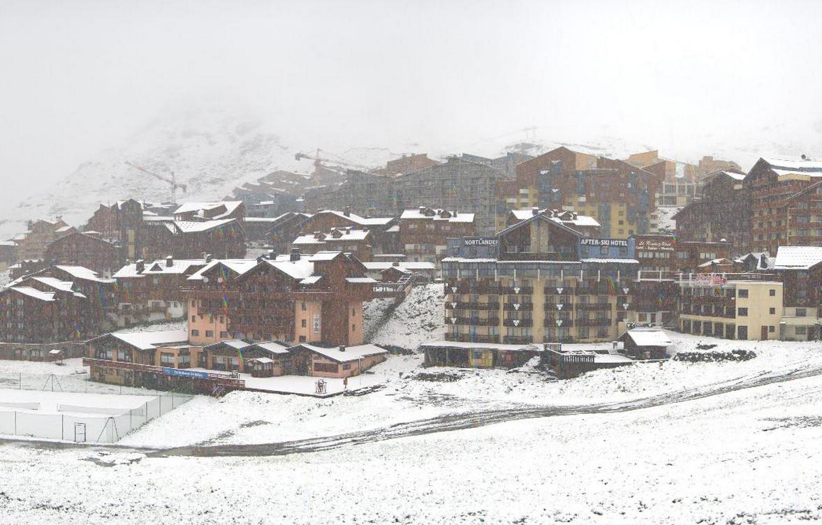 Image d'illustration pour Neige dans les Alpes : blanc jusque vers 1800 m sur les Savoie