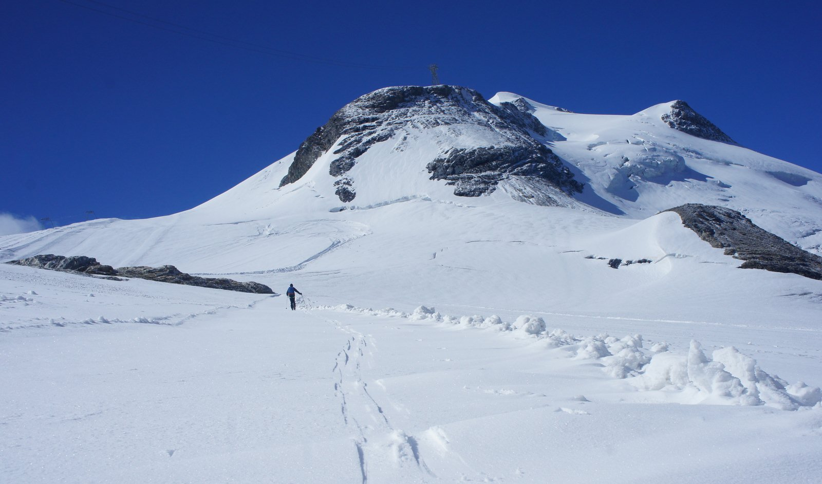 Image d'illustration pour Enneigement remarquable en haute montagne dans les Alpes