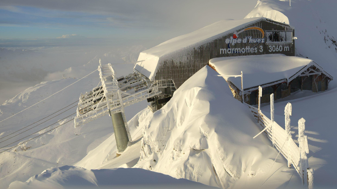 Image d'illustration pour Forte chute de neige et risque d'avalanche dans les Alpes