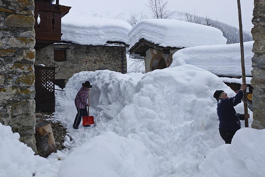 Image d'illustration pour Grosses quantités de neige sur les Alpes Italiennes