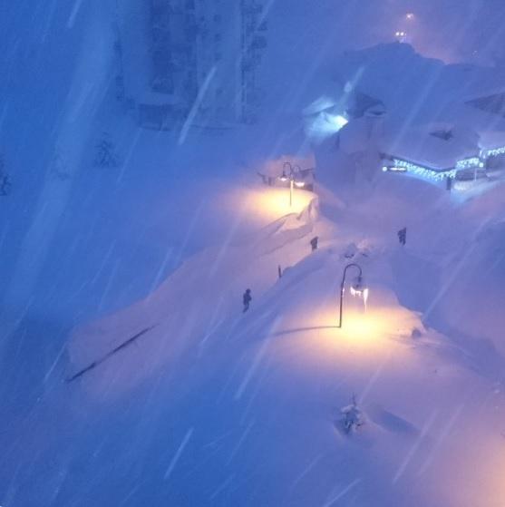 Image d'illustration pour Neige exceptionnelle et avalanches sur les Alpes frontalières