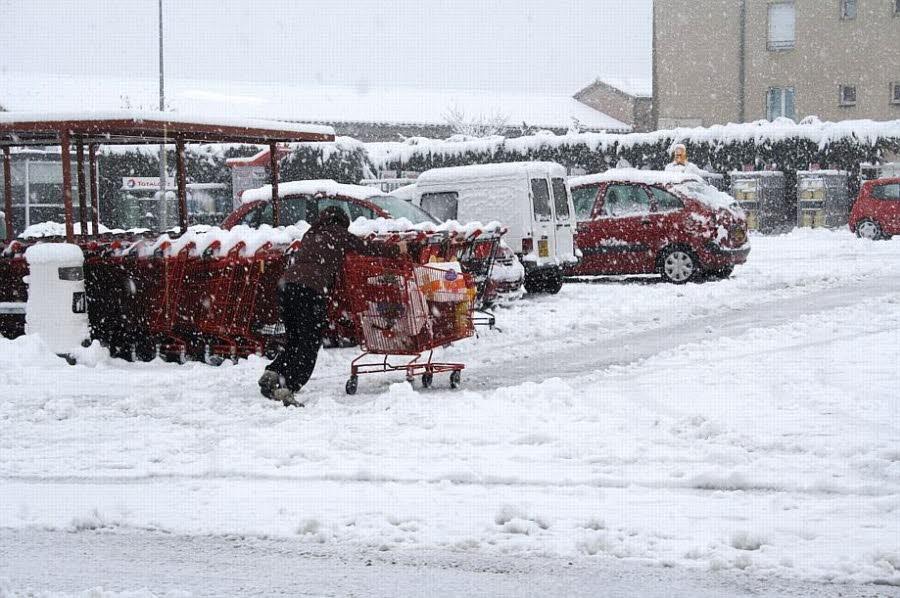 Image d'illustration pour Synthèse de l'épisode neigeux du 18 au 20 janvier