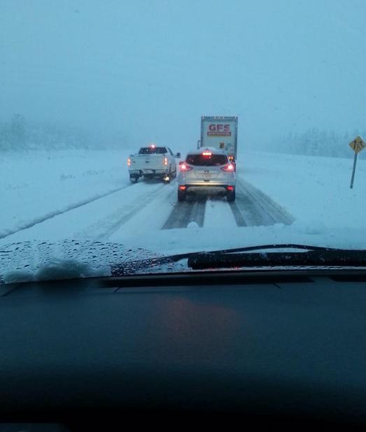 Image d'illustration pour Neige précoce à Calgary (Alberta - Canada)
